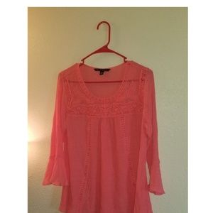 ZAC AND RACEL PINK BLOUSE